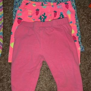 Lot of baby girl bottoms. Size 12M